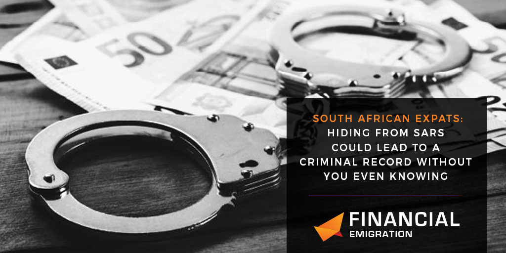 South African Expats: Tax Compliance with new Tax Law to avoid prosecution from SARS